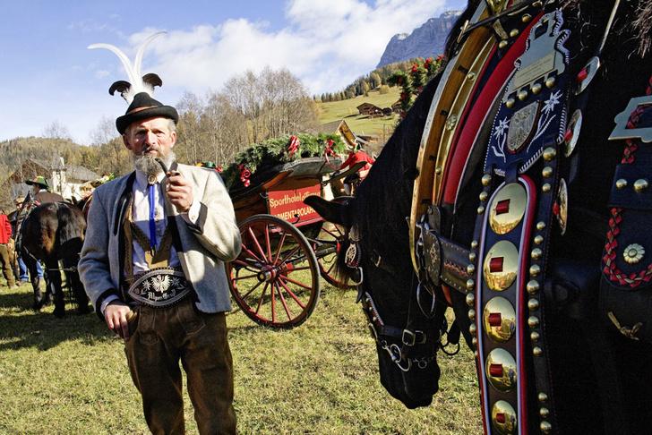 Фото №1 - Горные подкаблучники: традиции альпийского народа
