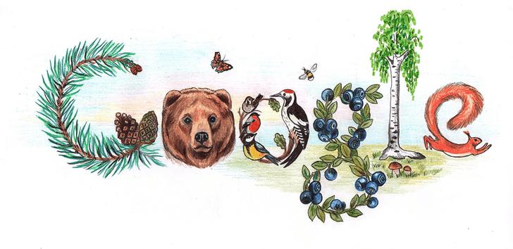 Фото №18 - «Дудл для Google — 2015»: 30 лучших рисунков