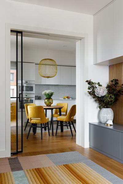 Фото №4 - Квартира молодой девушки в стиле mid-century modern 68 м²