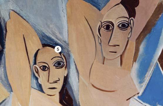 Фото №4 - Другое измерение: 8 секретов «Авиньонских девиц» Пикассо