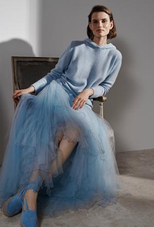 Фото №2 - Плиссе и круазе: как одежда балерин вновь вернулась в моду