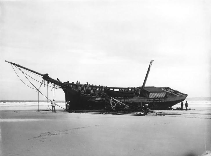 Фото №4 - Не повезло: старинные фотографии кораблекрушений