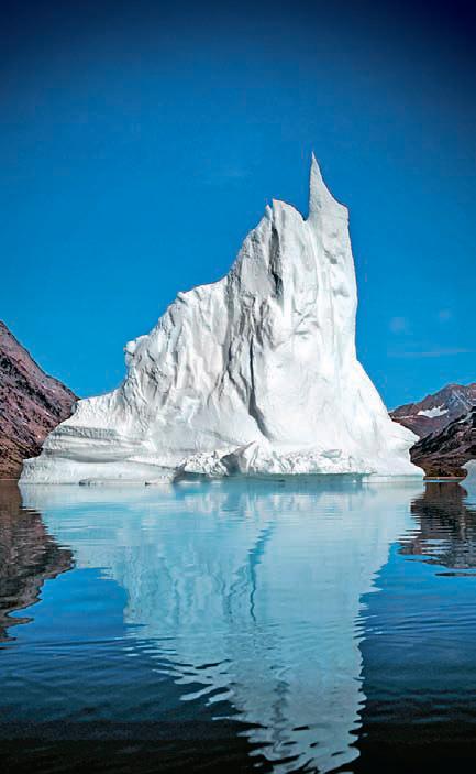 Фото №1 - Откуда в соленом океане пресные айсберги?