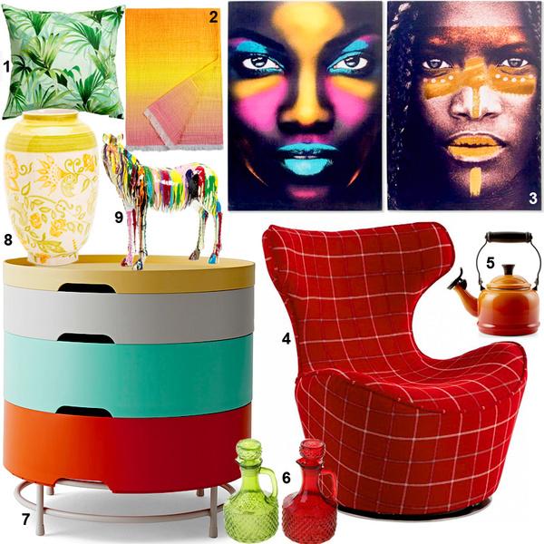 Фото №8 - Все оттенки радуги: яркие цвета в интерьере