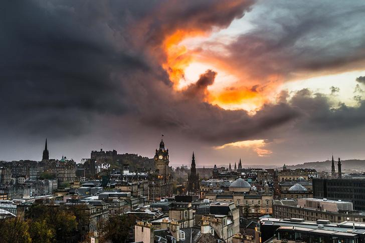 Фото №1 - Небо над Эдинбургом