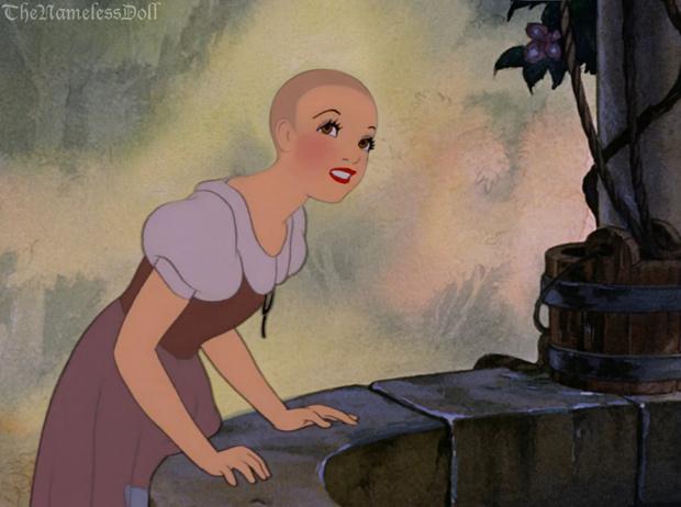 Фото №9 - Как диснеевские принцессы выглядели бы с короткими стрижками?
