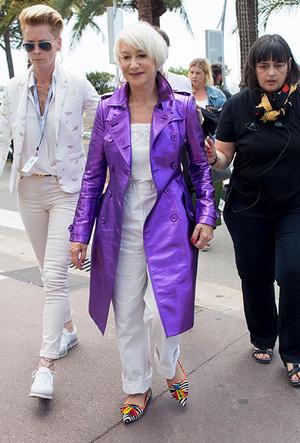 Фото №2 - Королева Хелен Миррен: 5 секретов стиля голливудской кинодивы