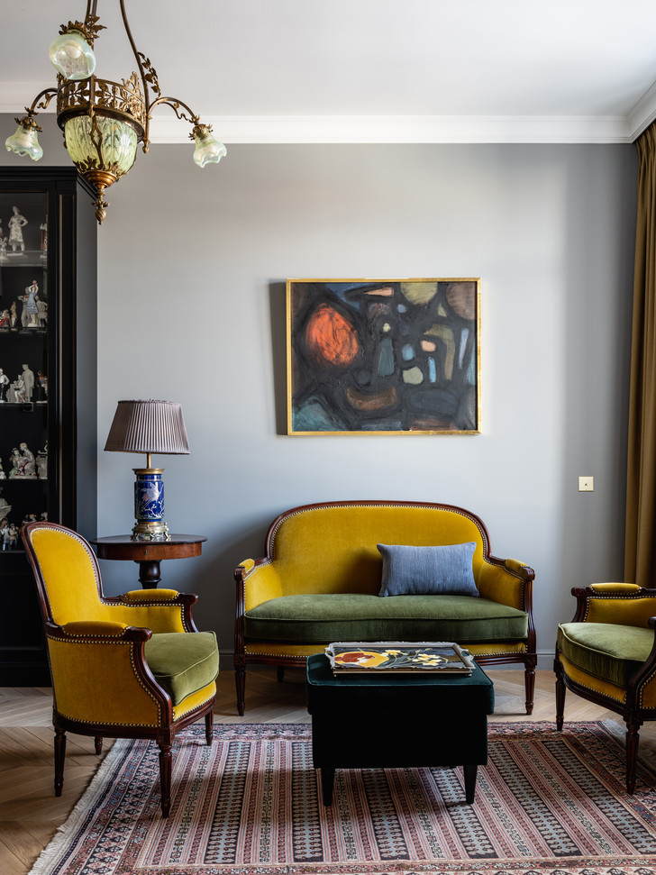 Фото №6 - Эклектичная квартира в центре Москвы: проект декоратора Кати Гердт