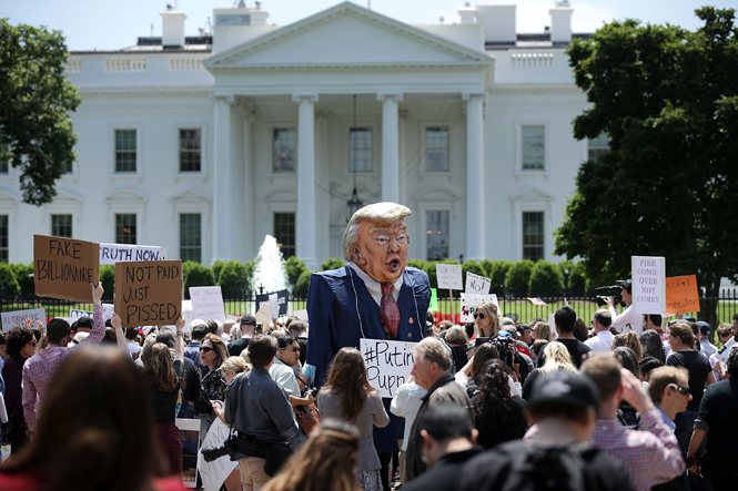 Фото №2 - Импичмент для президента: за что Дональда Трампа могут выгнать из Белого дома