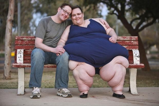 Вторые половинки самых толстых людей мира, самые толстые люди мира, биография, личная жизнь