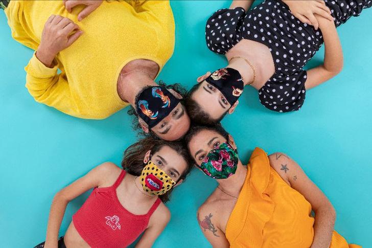 Фото №1 - Защитные маски для лица от Seletti и Toiletpaper