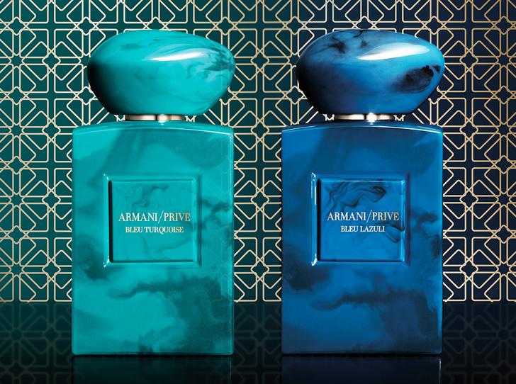 Фото №4 - Магия бирюзы и лазурита: новые ароматы Armani Prive