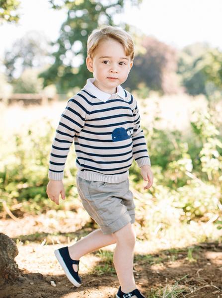 Фото №2 - С днем рождения: новые фото принца Джорджа