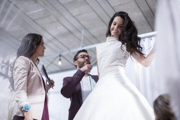 Фото №1 - Главные тренды свадебной моды этой зимы