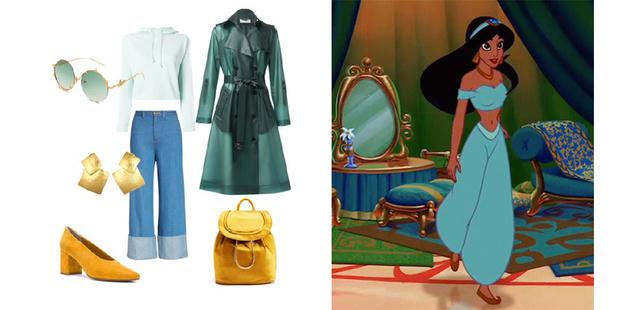 Фото №8 - Что носить весной: 8 модных образов в стиле Принцесс Disney