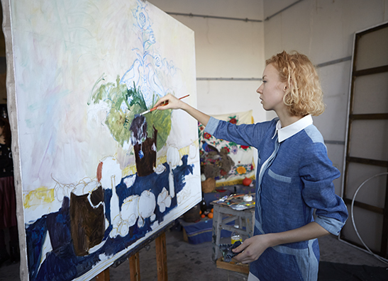 Аня Гончарова, 22, художник