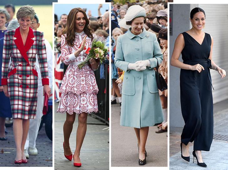 Фото №1 - Выездной гардероб: как стилисты и дизайнеры готовят королевских особ к турам