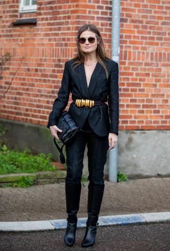 Фото №15 - С чем носить черный пиджак: 8 нескучных идей