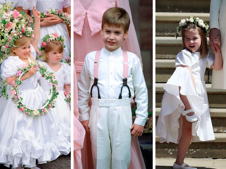 Фото №1 - Самые важные гости: маленькие Виндзоры на королевских свадьбах