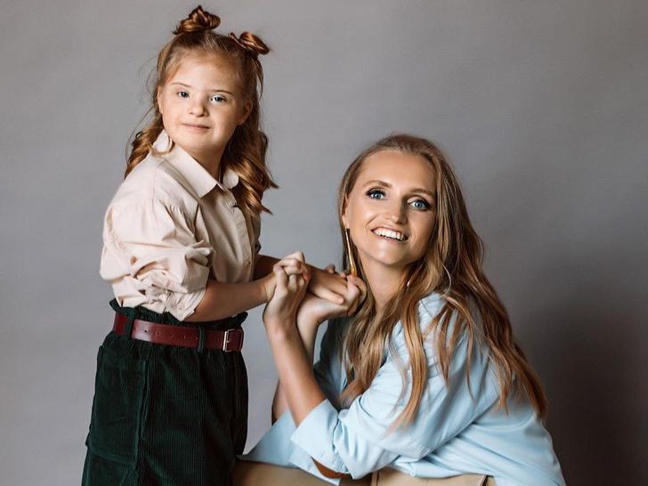 мать шестерых детей о воспитании малышки с синдромом Дауна