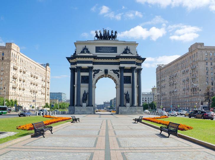 Фото №1 - 6 самых красивых триумфальных арок мира