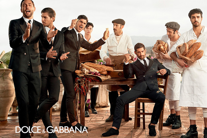 Dolce & Gabbana, Адам Сэнн (Adam Senn), Тони Уорд (Tony Ward), Эвандро Солдати ( Evandro Soldati ), Ноа Милс (Noah Mills)