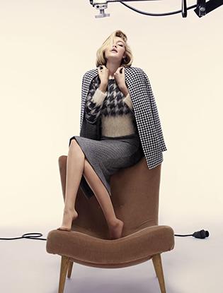 Фото №4 - Джиджи Хадид в рекламной кампании Max Mara