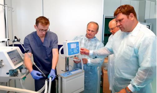 Фото №1 - В Центре Алмазова испытывают отечественный аппарат для терапии оксидом азота
