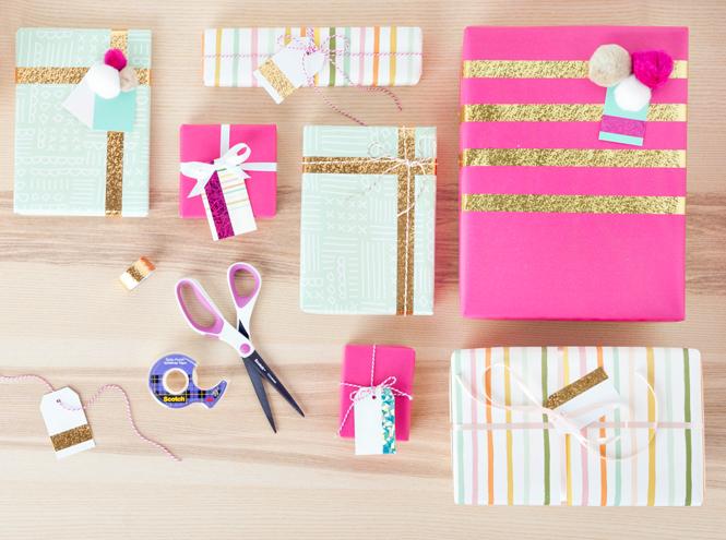 Фото №2 - Упаковка подарков к Новому году: 9 классных идей