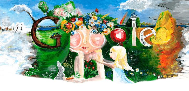 Фото №15 - «Дудл для Google — 2015»: 30 лучших рисунков
