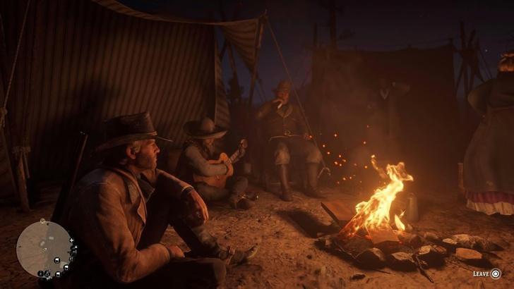 Фото №1 - Сотрудники американской студии перенесли встречи из Zoom в Red Dead Redemption 2