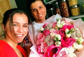 Мила Сивацкая с мамой