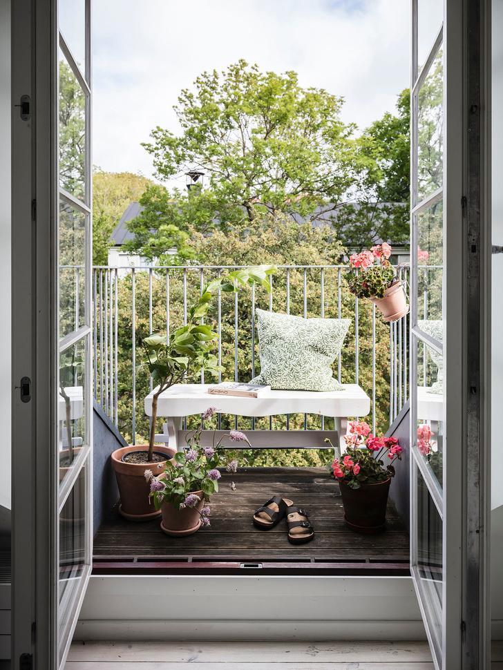 Фото №18 - Уютная квартира с мансардой в Швеции