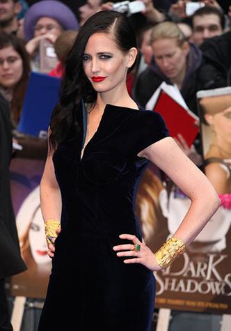 Ева Грин (Eva Green) на премьере «Мрычных теней» Тим Бертона, Лондон, 09.05.2012
