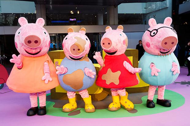 Семейство Свинки Пеппы покорило весь мир