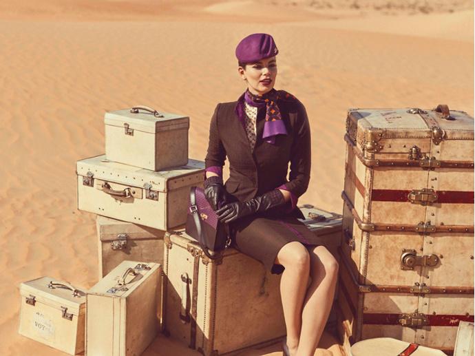 форма стюардессы фото Etihad Airways