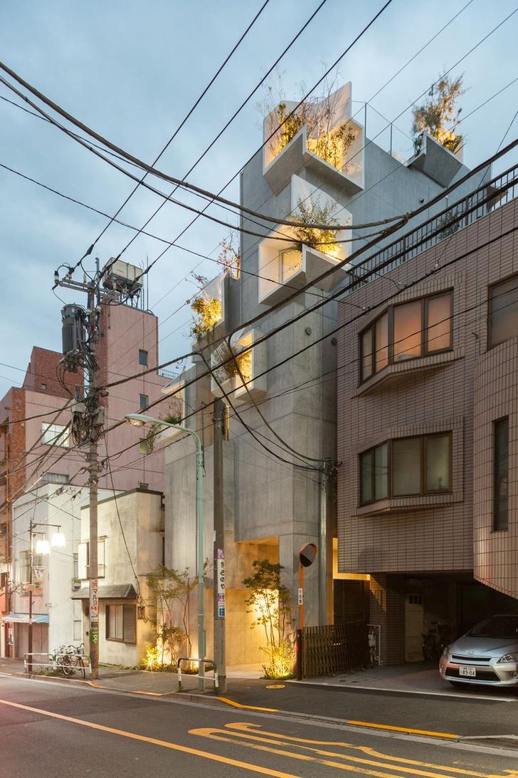 Фото №8 - Бетонные джунгли: дом в Токио
