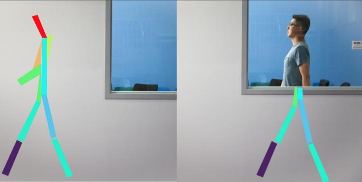 Фото №1 - Искусственный интеллект научили узнавать человека за стеной