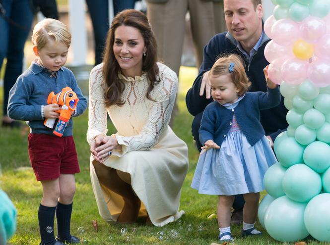 Фото №3 - Паж и подружка: принцесса Шарлотта и принц Джордж на свадьбе Пиппы Миддлтон