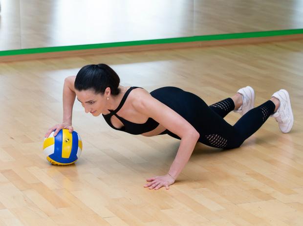 Фото №12 - Солнечная активность: обзор лучших фитнес-упражнений для пляжа