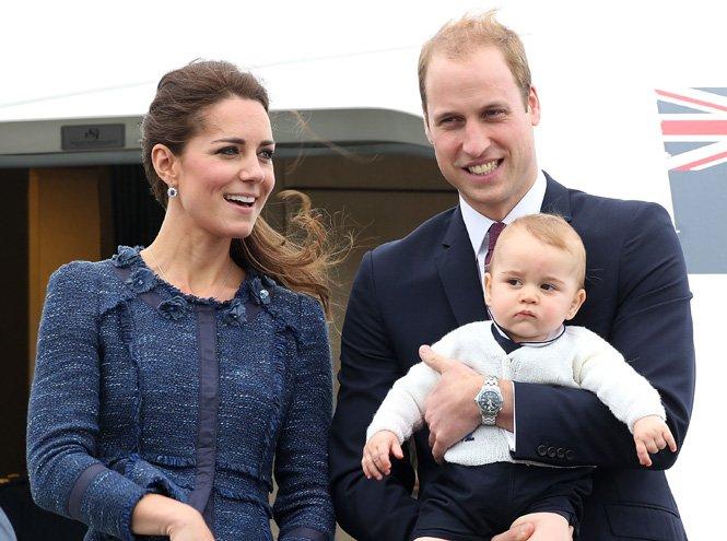 Фото №15 - Принц Джордж Кембриджский: три года в фотографиях