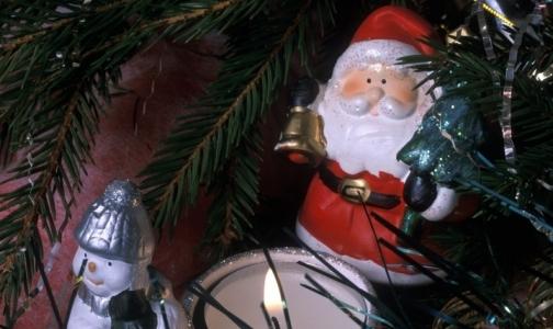Фото №1 - Снегурочки и Деды Морозы в Петербурге не тают. Они горят