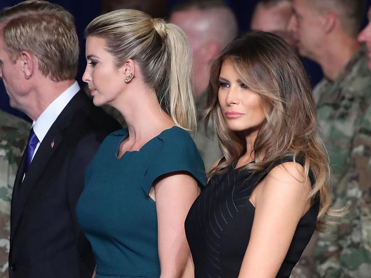 Фото №3 - Истинное отношение: как Мелания называет Иванку и остальных Трампов