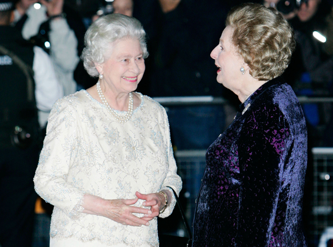 Фото №4 - Как Королева относилась к Маргарет Тэтчер