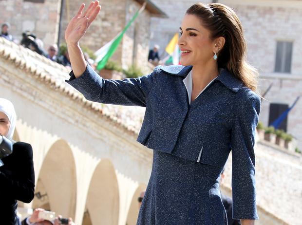 Фото №1 - Как королева Рания поздравила короля Абдаллу II с днем рождения