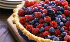 Ягодный пирог в мультиварке