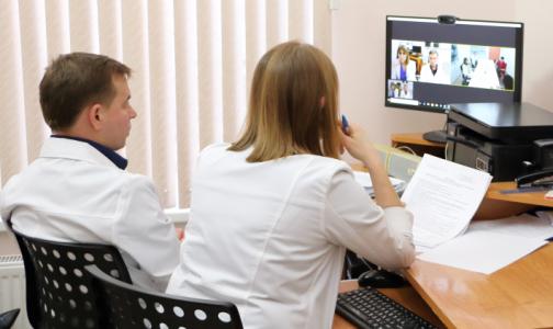 Фото №1 - Детские врачи Центра им. Раухфуса вышли на связь с коллегами «по-взрослому»