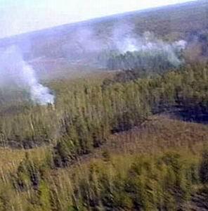 Фото №1 - Площадь пожаров на Дальнем Востоке выросла в три раза
