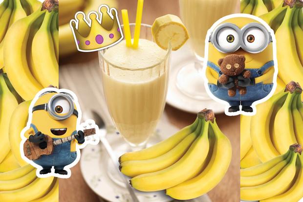 Королевский банана шейк