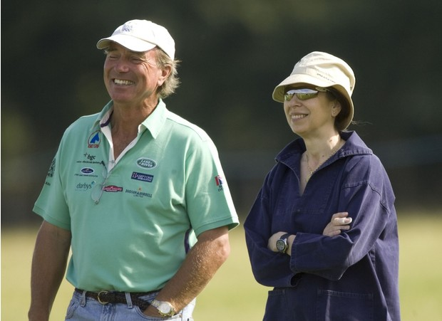 Марк Филлипс и принцесса Анна
